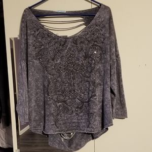 Women's Maurices long-sleeve top
